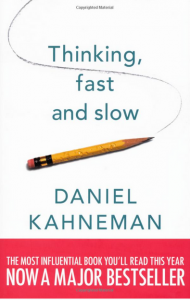cover of Thinking Fast And Slow by Daniel Kahneman