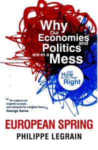 cover of European Spring by Philippe Legain