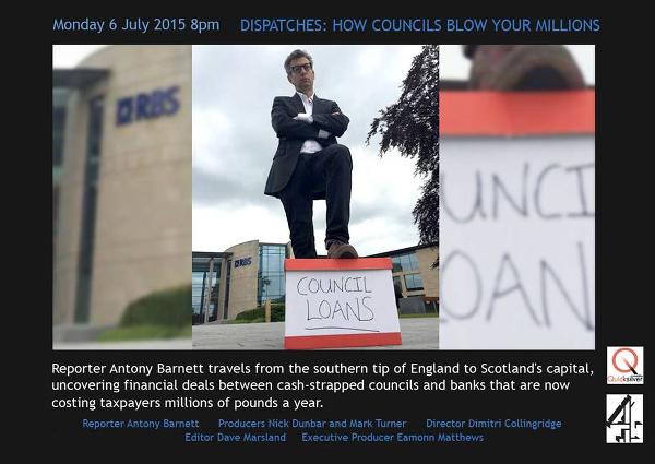 C4 Dispatches: How Councils Blow Your Millions